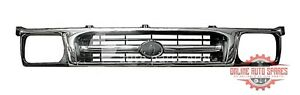 fit Toyota Hilux KZN165 Series CHROME Grille 1999-01 grill