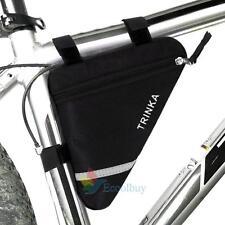 Fahrradtasche Fahrrad Dreieck Tasche Rahmentasche Bike Triangle Bag Black Neu A
