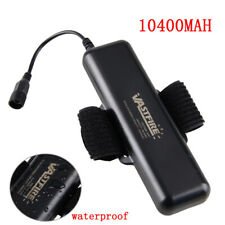 Rechargeable 8.4V Waterproof 10400mAh Battery Pack F Bicycle Bike light Headlamp