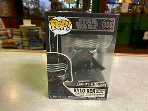 Funko POP! NIP - Star Wars Lights & Sound KYLO REN Supreme Leader #308