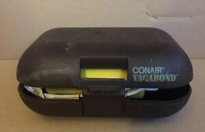 Vintage Conair Vagabond 1250 Compact Hairdryer Travel RV Camping FREE SHIPPING