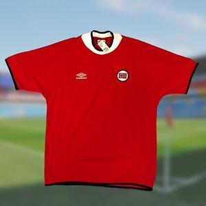NWT Original Norway 2000/02 Home Soccer Jersey XL Umbro Haaland Camiseta Vintage