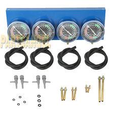 Universal Gauge 4-Carb Carburetor Synchronizer Set kit For Motorcycle Honda
