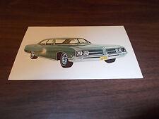 1968 Buick Le Sabre 4-Door Sedan Vintage Advertising Postcard
