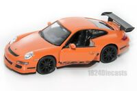 Porsche 911 (997) GT3 RS, Welly 42397, scale 1:34-39, model toy car gift