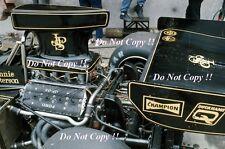 Ronnie Peterson JPS Lotus 72E British Grand Prix 1974 Photograph 6