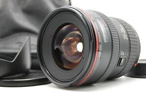 [Top Mint + Cappuccio] Canon Ef 20-30mm F/2.8 L Ampio Angolo Zoom Lenti Da Japan