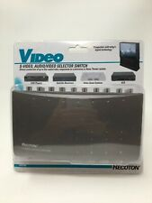 RECOTON Video S-Video Audio/Video Selector Switch NEW SVS1000