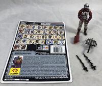 GI Joe 1990 Night Creeper V1 100% Complete w/ Uncut Card Hasbro ARAH Vintage