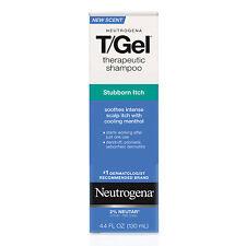 Neutrogena T GEL Therapeutic Shampoo 125ml Treat Itchy Red Flaky Irritated Scalp