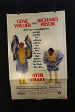 "Stir Crazy - Original theater ""one-sheet"" movie poster NSS#800126"