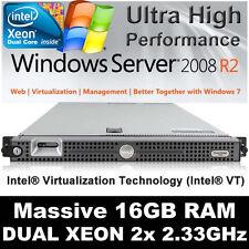 DELL POWEREDGE 1950 II DUAL CORE 2x 2.33Ghz INTEL XEON 5148 16GB PC2-5300F 146GB