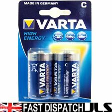 6 x C tamaño C Varta alta energía 1.5 v Pilas mn1400 LR14 um2 4914 baby1/2torcia
