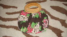 Rare Gap Kids Brown Floral Girls Purse