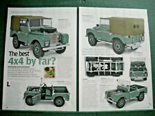 Landrover HUE 166 Minichamps model toy Land Rover review article 3 sides
