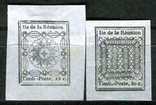 REUNION 1852 NACHDRUCK zu Nr 1-2 ungummiert (F4002