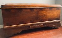 Art Deco Ed Roos Company of  Forest  Park CEDAR CHEST, Ori. Labels, 1930'S