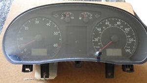Tacho, Kombiinstrument zählt in Meilen GB Tacho, VW Polo 9N Teile Nr. 6Q0920900H