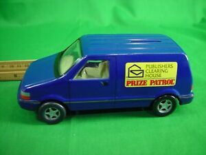 1996 Publishers Clearing House Dodge Van Plastic Coin Bank (missing stopper)