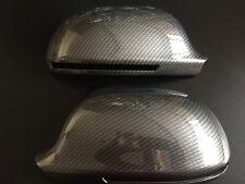 CARBON WING MIRROR COVERS AUDI A3 S3 A4 S4 A5 S5 A6 S6 Q3 MODELS S LINE QUATTRO