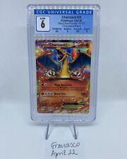 Pokemon Charizard EX 2014 Black Star Promo XY17 CGC 6 EX/NM