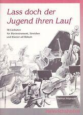 Helmut Majewski : 18 Liedsätze für Blasinstrument, Streicher und Klavier ad lib.