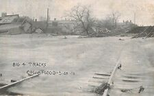 Columbus,Ohio,Big 4 Rail Road Tracks,Flood of 3-25-1913,Used,1913