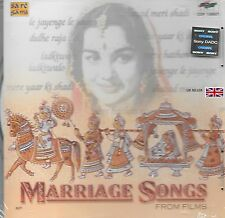 MARRIAGE SONGS FROM FILMS - BRAND NEW SARE GAMA SOUND TRACK CD - FREE UK POST