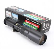 500MM 500/8 KIMUNOR PRE-SET IN CANON FD/FL MOUNT/211357