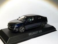 RARE Peugeot 508 berline de 2018  Bleu Foncé au 1/43 de NOREV 4758211