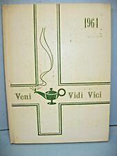 1964 Veni Vidi Vici, St Joseph's Sch of Nursing London, Ontario, Canada Yearbook