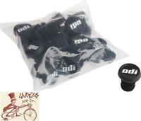 ODI BMX BICYCLE GRIP BARENDS END PLUGS--PACK OF 10 BLACK PAIRS