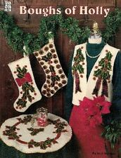 Crafts - Sewing - Christmas - Boughs of Holly Sewing Projects Booklet