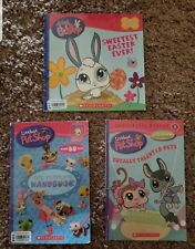 Littlest Pet Shop~2006~Scholastic~The Ultimate Handbook~Official Sticker Book,