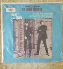 """THE EVERLY BROTHERS Beat N Soul 12"""" 33RPM w/Pic Orange Taiwan IMPORT FL-1334"""