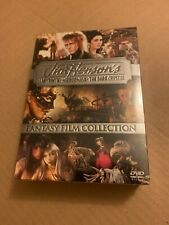 J Henson Fantasy Film Collection Sealed New (Labyrinth, Mirrormask, Crystal) Dvd