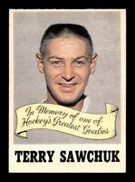 1970-71 O-Pee-Chee #231 Terry Sawchuk Memorial Award EXMT X1289726