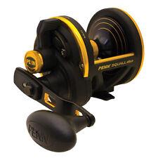 PENN Squall 40 Lever Drag Fishing Reel - Black/Gold