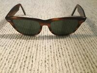 Ray Ban Bausch & Lomb B & L Wayfarer Sunglasses Frame Brown with Case