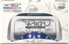 Harmony GELISH 18G PLUS w/ COMFORT CURE LED LIGHT LAMP cure gel polish NEW Model