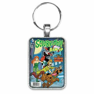 Scooby-Doo Team-Up #12 Cover Key Ring or Necklace Harley Quinn Poison Ivy Shaggy