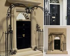 10 Downing Street Plaster Scale Model of the Doorway by Revival Arts of Bath