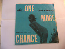"TEDDY RANDAZZO"" ONE MORE-disco 45 giri VOCE Italy 1962""ONLY SLEEVE"
