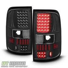 Blk 2004-2008 Ford F150 F-150 Pickup LED Tail Lights Lamps Left+Right 04-08 Set