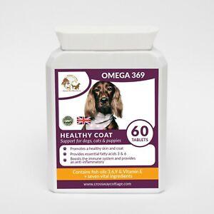 Omega 369 Fish Oil & Vitamin E - High Strength for Dogs - 60 Gel