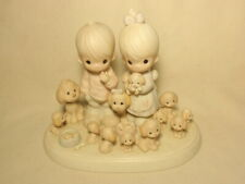 New ListingPrecious Moments The Good Lord Has Blessed Us Tenfold Figurine Tree Mark
