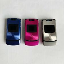 Original Motorola Razr v3xx Flip Cellphone 1.3Mp Camera Bluetooth Mobile Phone