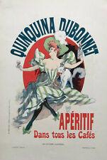 """CHERET, Jules  - """"Les Affiches Illustrees' poster for QUINQUINA DUBONNET - 1895"""