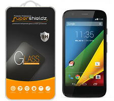 2X Supershieldz Tempered Glass Screen Protector For Motorola Moto G (1st Gen)