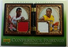 2007 Upper Deck Artifacts Conference Pairings Tracy McGrady & Kobe Bryant #CP-MB